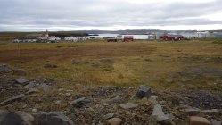 Pohľad na mesto od Arctic Henge.