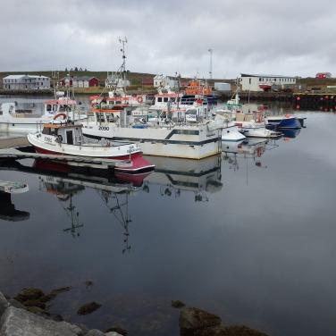 Prístav, asi najdôležitejšia časť mesta.
