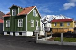 Farebné domčeky dotvárali atmosféru.