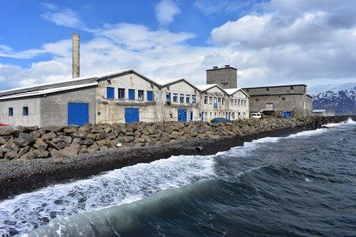 Stará fabrika na spracovanie rýb