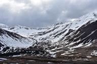 Spomínané lyžiarske stredisko za mestom.