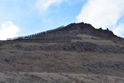 Ochranné konštrukcie proti lavínam.