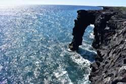 Populárny lávový oblúk - Hōlei Sea Arch