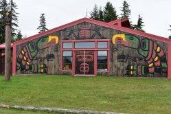 Indiánska škola vo Fort Rupert.